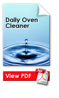 Daily oven cleaner