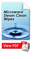 Oven Mate Microwave Steam Wipes
